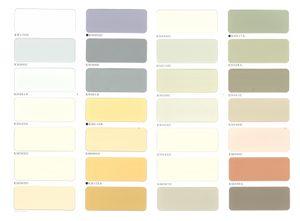28色のカラーラインナップと3種の艶選びで理想の外壁を作れます